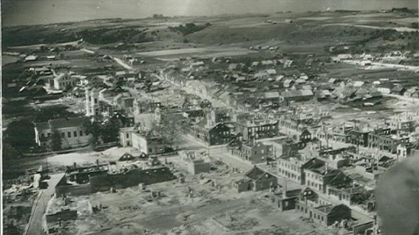 World War 2 destruction of Daugavpils
