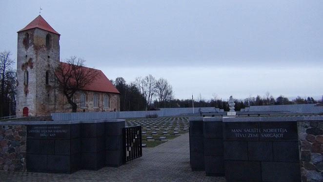 Latvian Legion memorial
