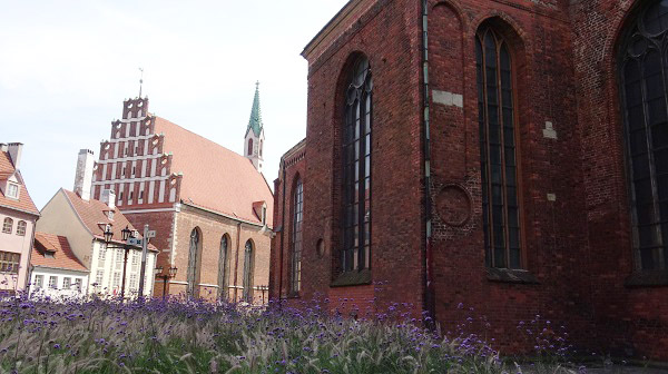 Gothic churches in Riga