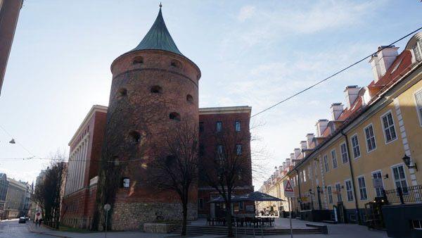 Gunpowder tower of Riga