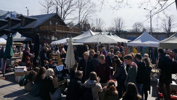 Kalnciema fair in Riga