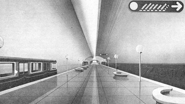 Riga metro project, 1989