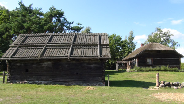 Typically a Latvian farmstead consists of many buildings, of which the house is the most important