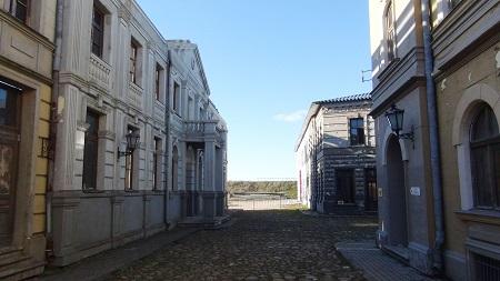 Old Latvian street in Cinevilla