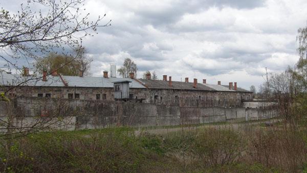 A small part of Grīva Fortress