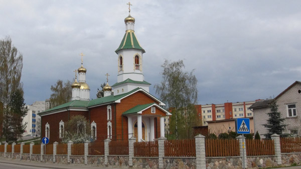New orthodox church constructed post-1990 in Daugavpils Soviet district