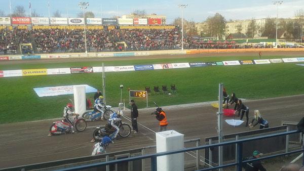 Speedway event in Lokomotiv stadium