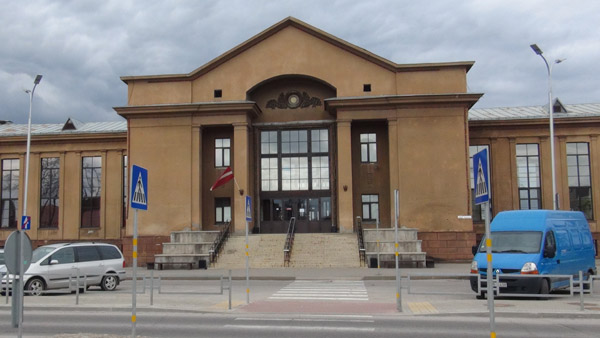 Daugavpils train station