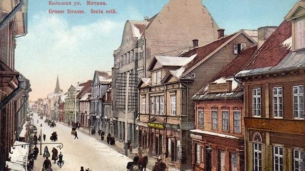 Liela iela of Jelgava