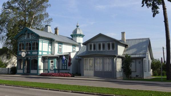 Aspazija museum in Dubulti