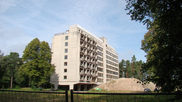 An abandoned sanitarium in Jūrmala