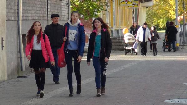 Autumn/warm winter clothing in Latvia