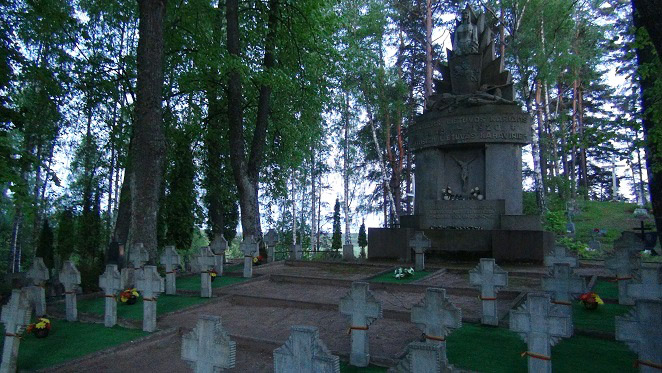 Lithuanian soldier graves in Latvia