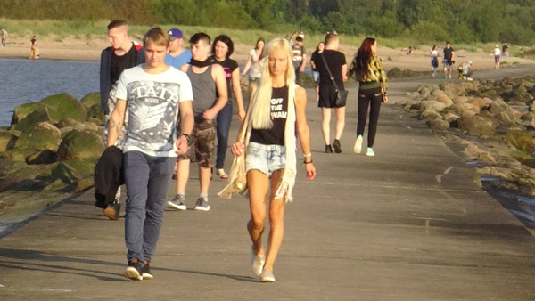 Summer attire in Latvia