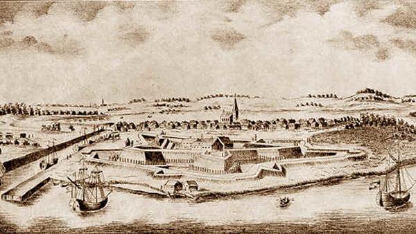Liepāja in 1701