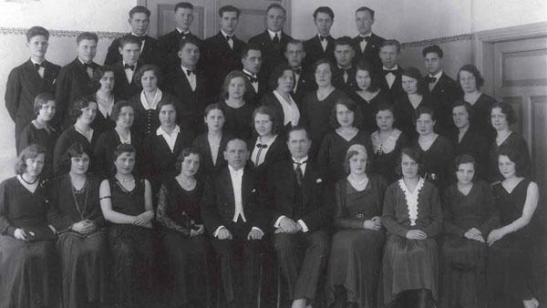 A Lithuanian choir in Liepāja