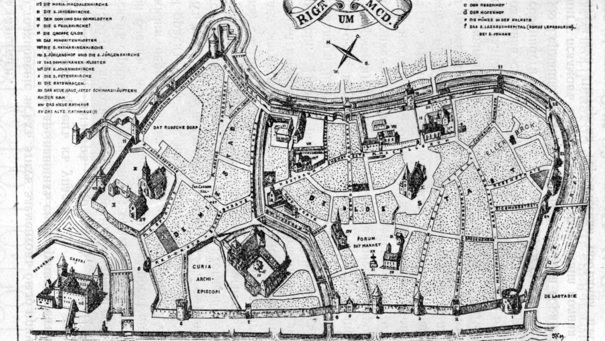 Riga in 1400