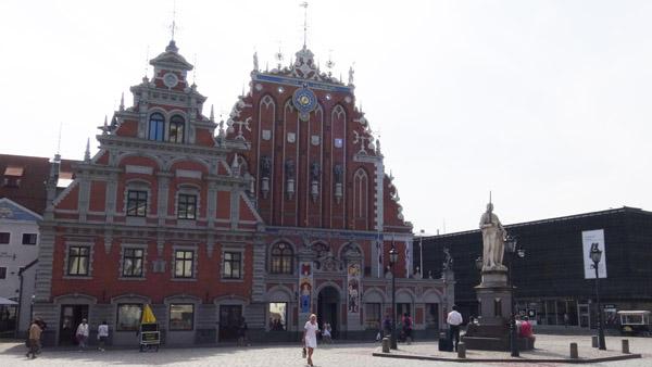 Blackheads house in Riga