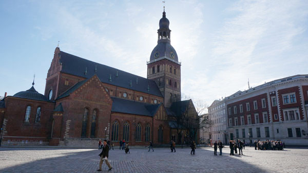 Lutheran Cathedral of Riga at Cathedral square