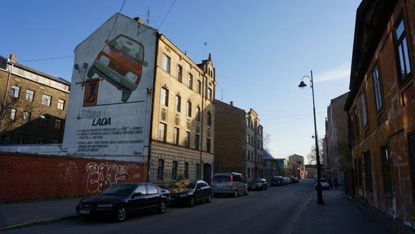 A building in Grīziņkalns