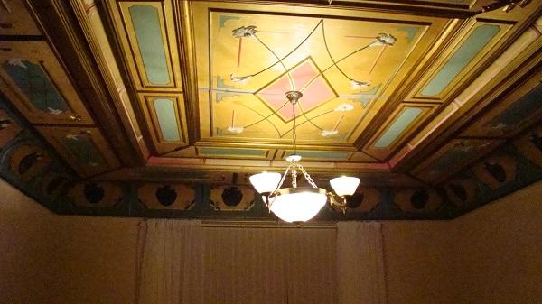 Art nouveau interior in a Riga apartment