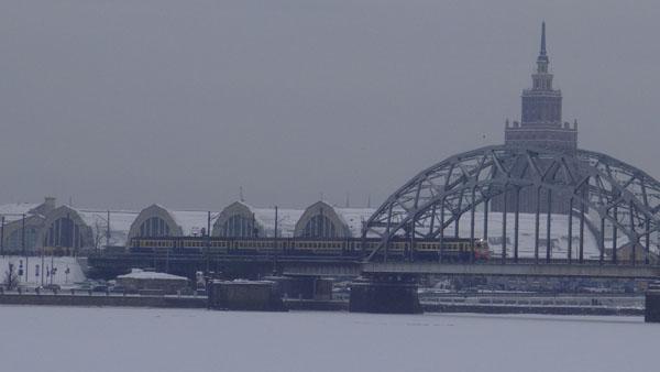 Railway access to Riga