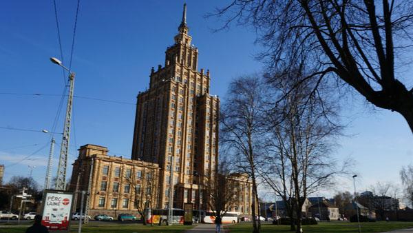Academy of Sciences in Riga
