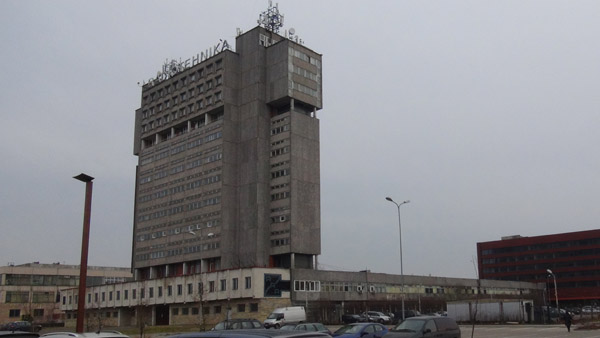 HQ for Radiotehnika factory in Riga with a more unique style than simple apartment blocks