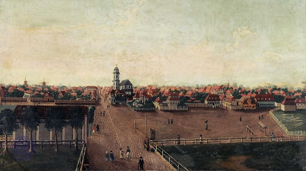 Riga suburbs in 1812