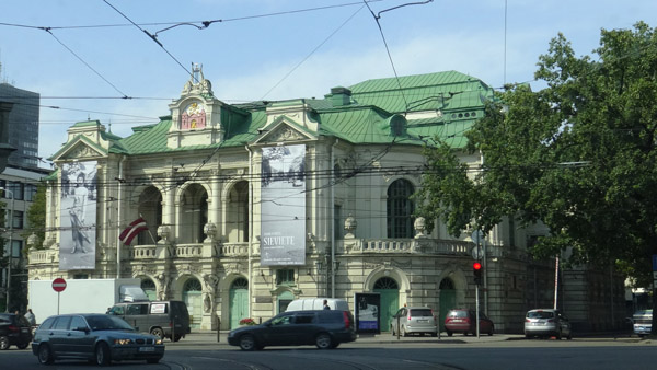 Neo-Baroque National Theater of Riga