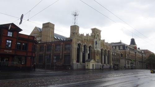 Historic buiildings of VEF factory