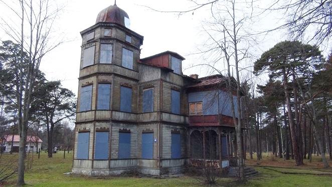 An abandoned villa