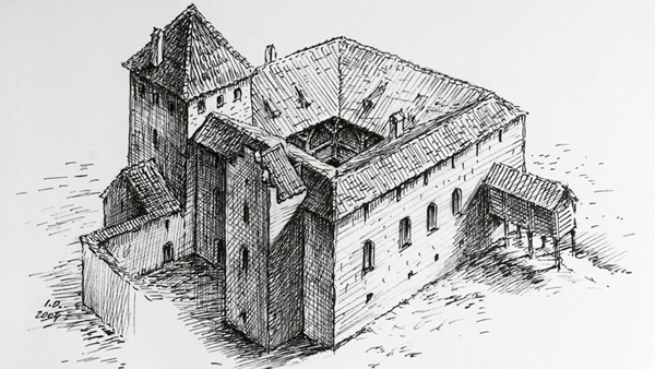Ventspils castle in 13th-16th centuries